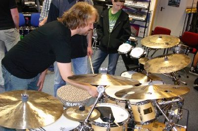 Drum-Workshop mit Claus Hessler 2006