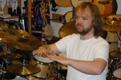 Drum-Workshop mit Claus Hessler 2005